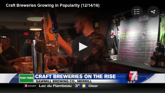 Sawmill Brewing WSAW Your Town